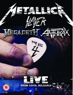 Metallica, Slayer, Megadeth, Anthrax